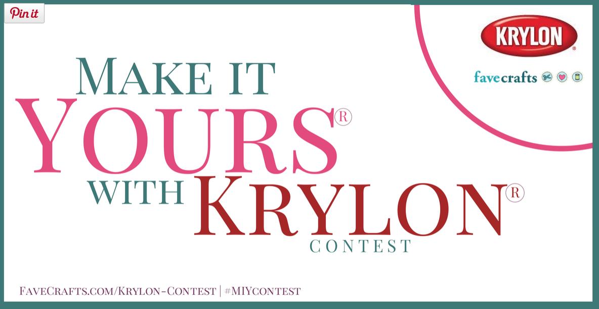 FAVECRAFTS & KRYLON CONTEST