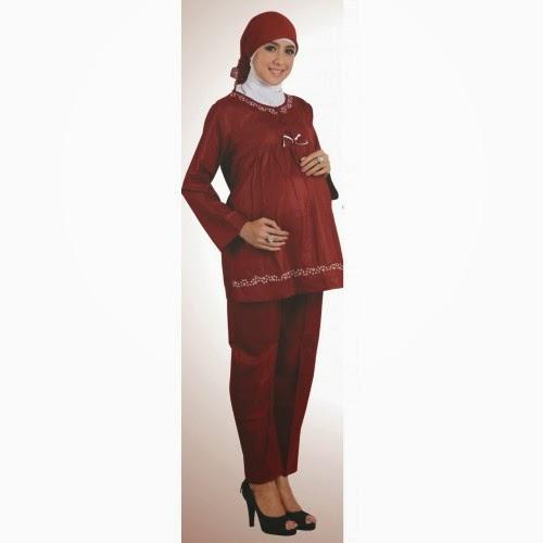 Baju hamil muslimah modis