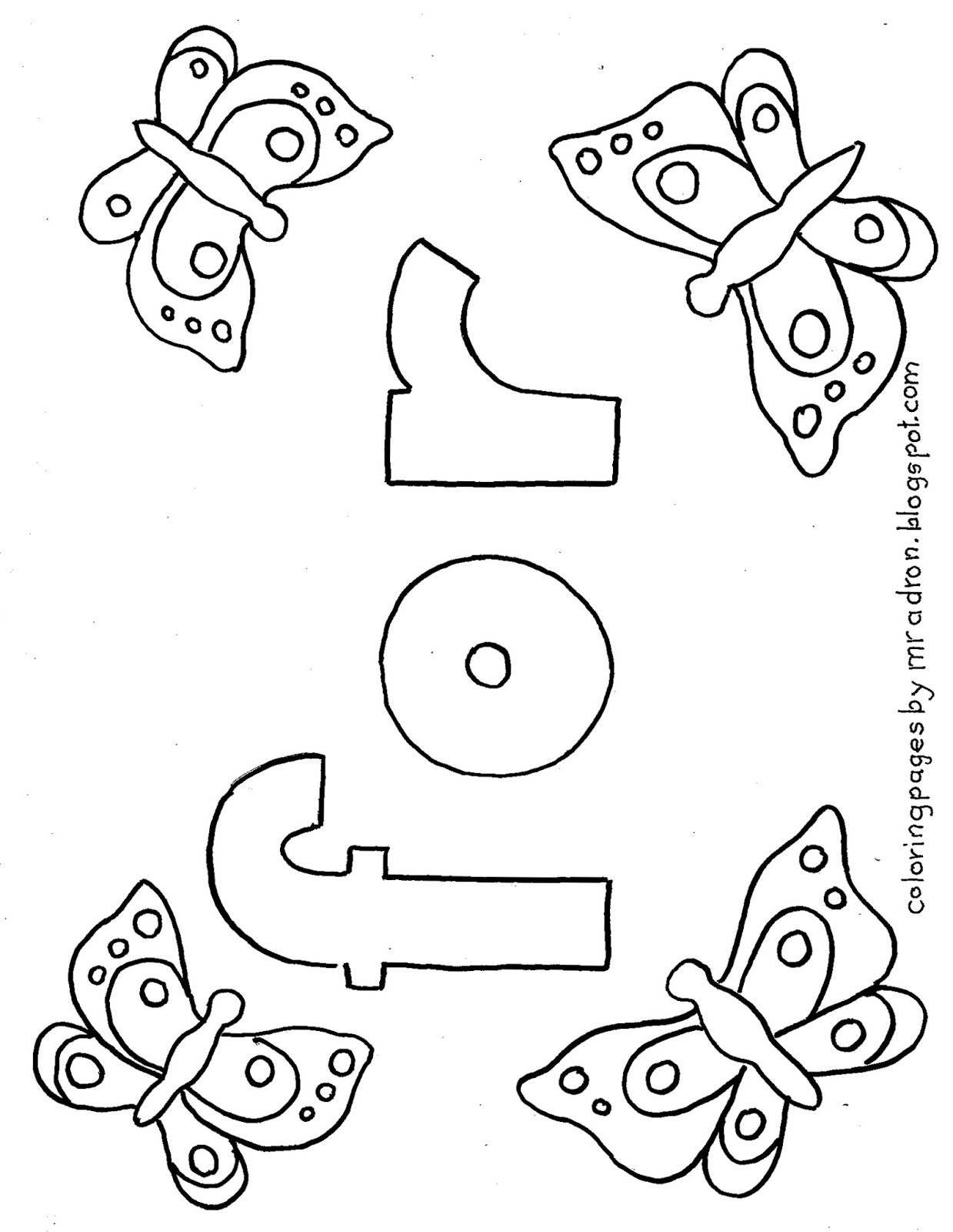 Coloring pages for kids by mr adron printable coloring for Sight word coloring pages printable