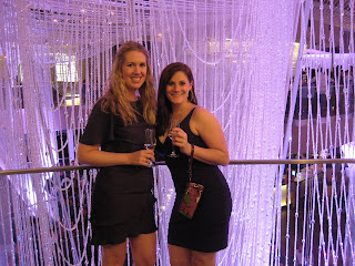 Anna and Michelle at the The Chandelier at The Cosmopolitan