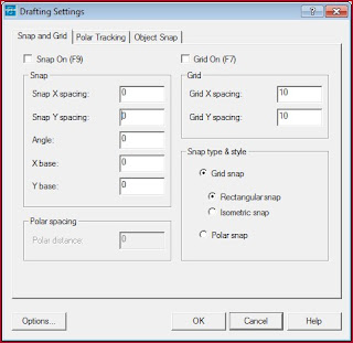 drafting setting ke 1
