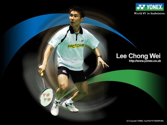 Datuk lee chong wei,lee chong wee,pemain nombor satu dunia,sukan badminton,badminton