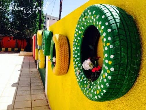 Idea recycle Tayar Terbuang # 1