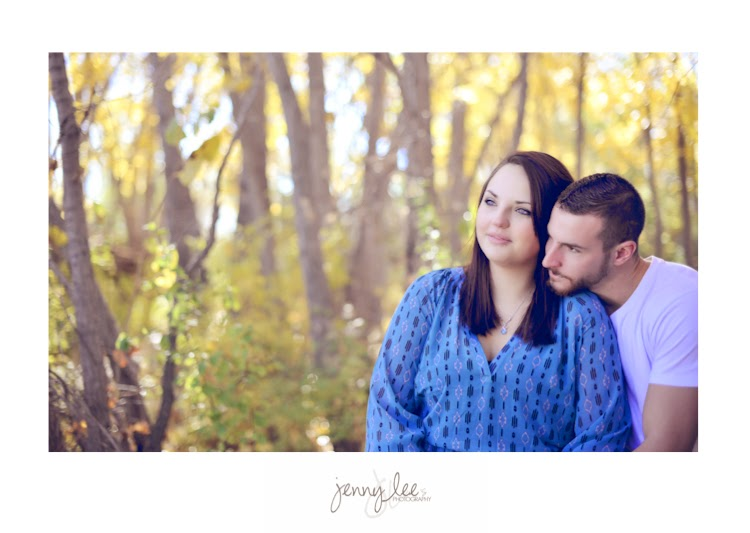 Fall Engagement Portrait Session