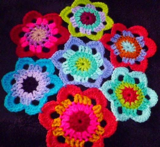Hex flower