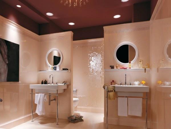 8 صور تصاميم حمامات عصرية   ديكورات حمامات كبيرة و ضيقة   الوان و نقوش حوائط حمامات مودرت