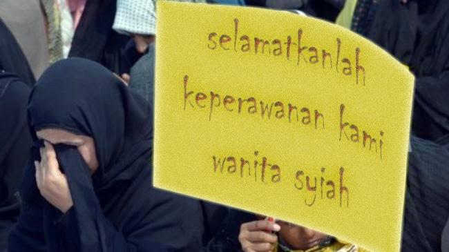 Syiah Mutah Aib Pecah Keperawanan