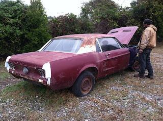 '66 Ford Mustang, classic car, antique car, automobile restoration