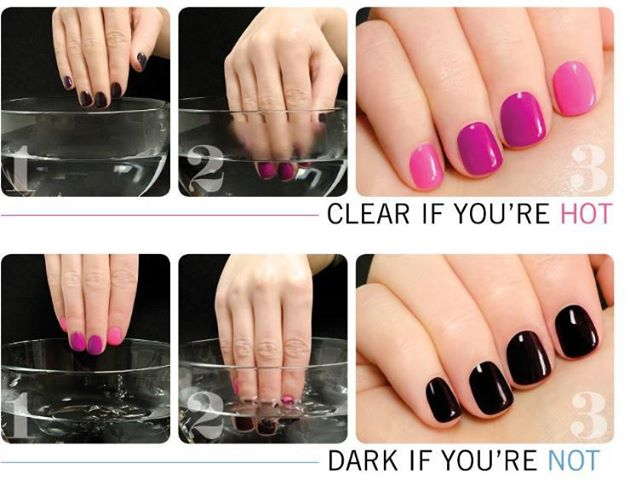 Clypyt Nail Polish That Changes With Your Temperature Change Color Art Soak Off Uv Gel Step1 Clean Nails Then Trim