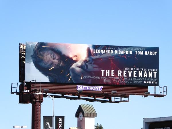 The Revenant movie billboard