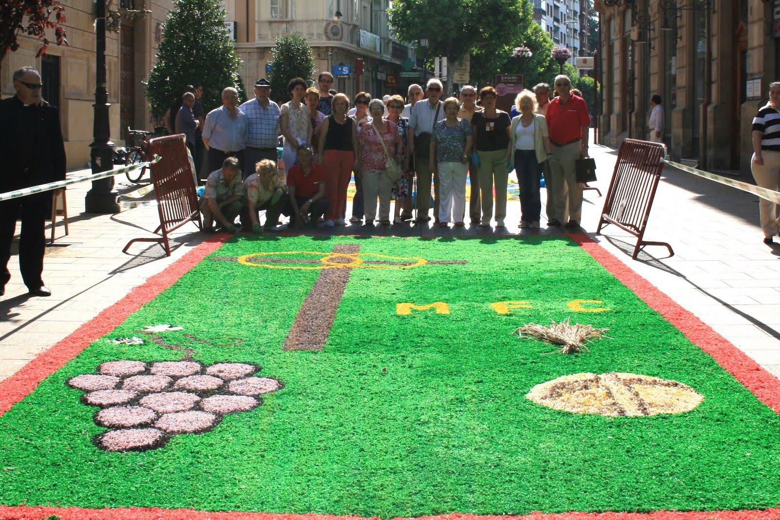 Movimiento Familiar Cristiano (La Rioja): CORPUS CRISTI EN LOGROÑO