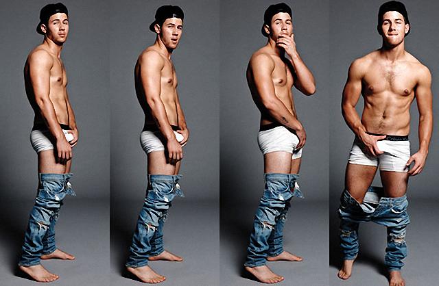 Nick Jonas la tiene grande