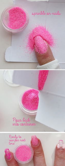 Born Pretty glitter pot DIY how to manicure