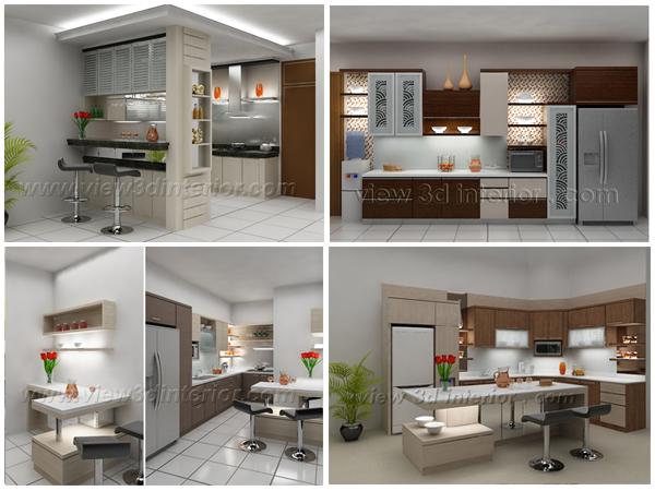 interior dapur desain dapur minimalis modern idaman