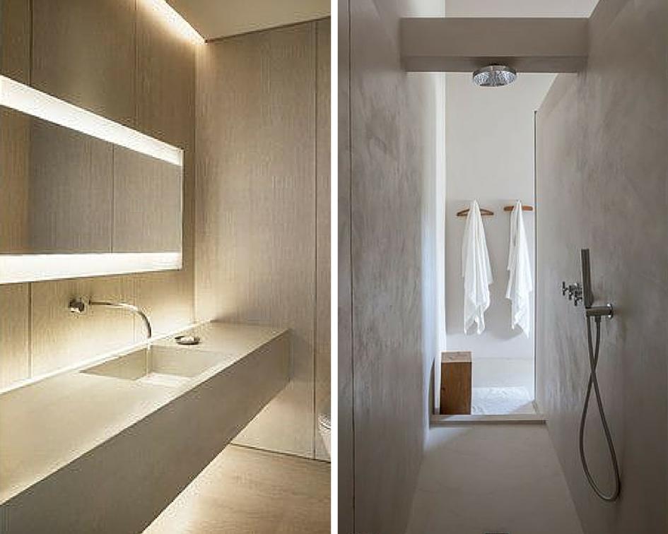 Pavimenti Bagni Moderni. Per Bagno Effetto Cemento Rodano With ...