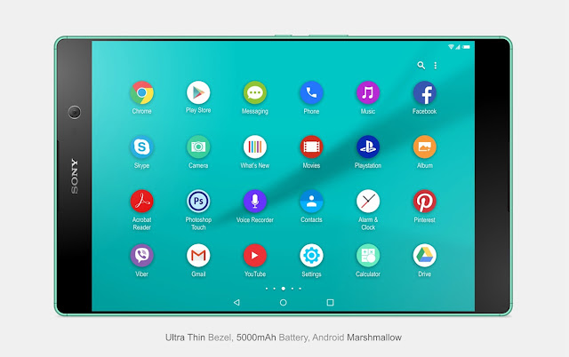 Sony Xperia C5 Tablet Concept By Victor Cao