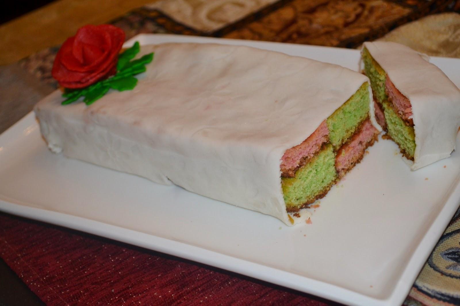 Easy Battenburg Cake Recipe