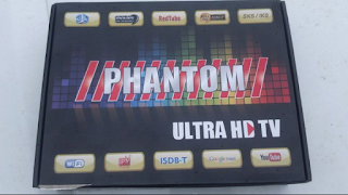 Imagens do novo receptor Phantom Ultra HD TV img4
