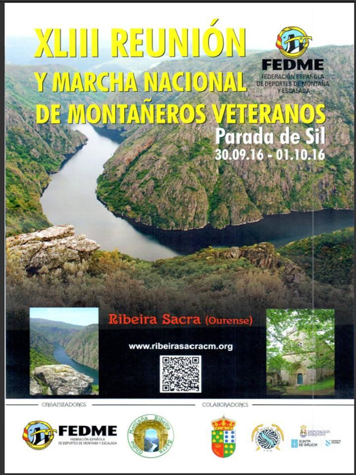 XLIII MARCHA NACIONAL DE MONTAÑEROS VETERANOS