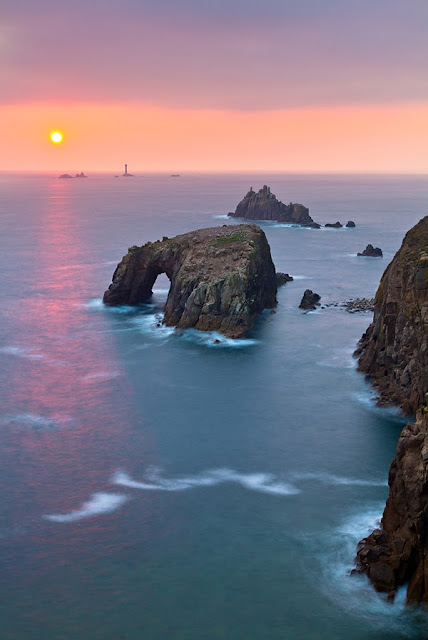 Land's End and Longships, England