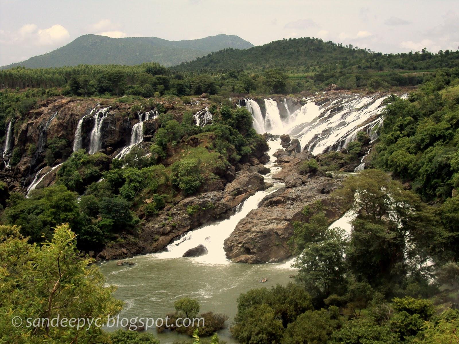 Bharachukki falls part 2
