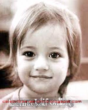 Celebrities As A Child: katrina kaif childhood photos