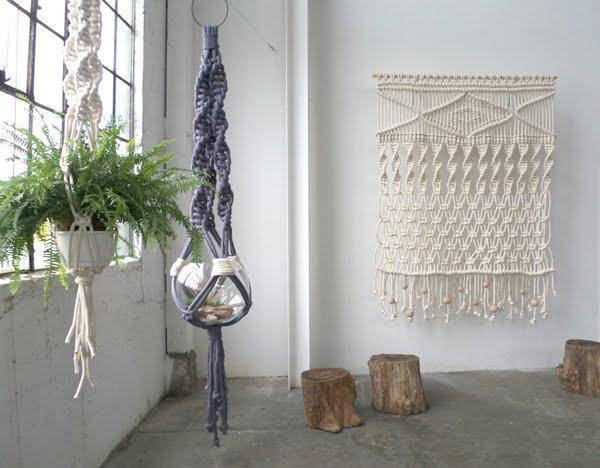 Lloso modern macrame - Wandbehang modern ...