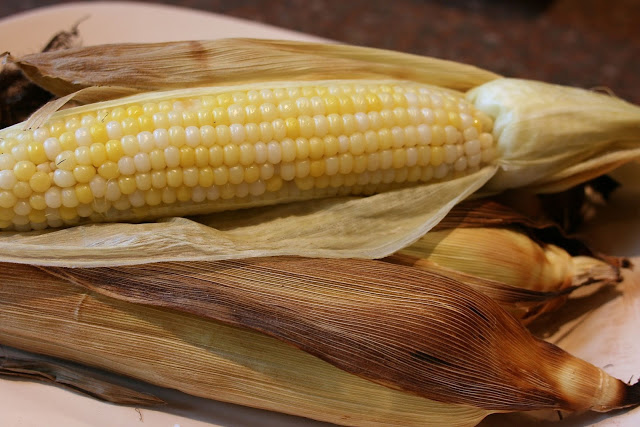 roasted corn: simplelivingeating.com