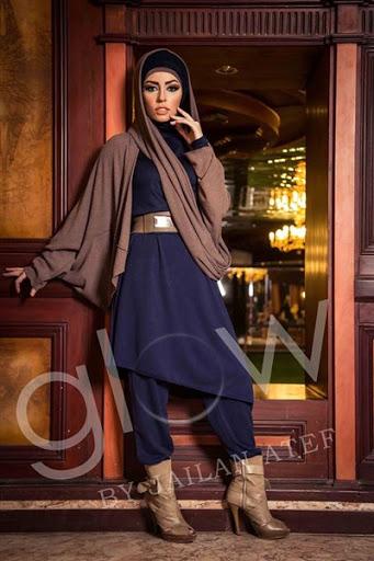 model baju muslim casual wanita terbaru 2015/2016