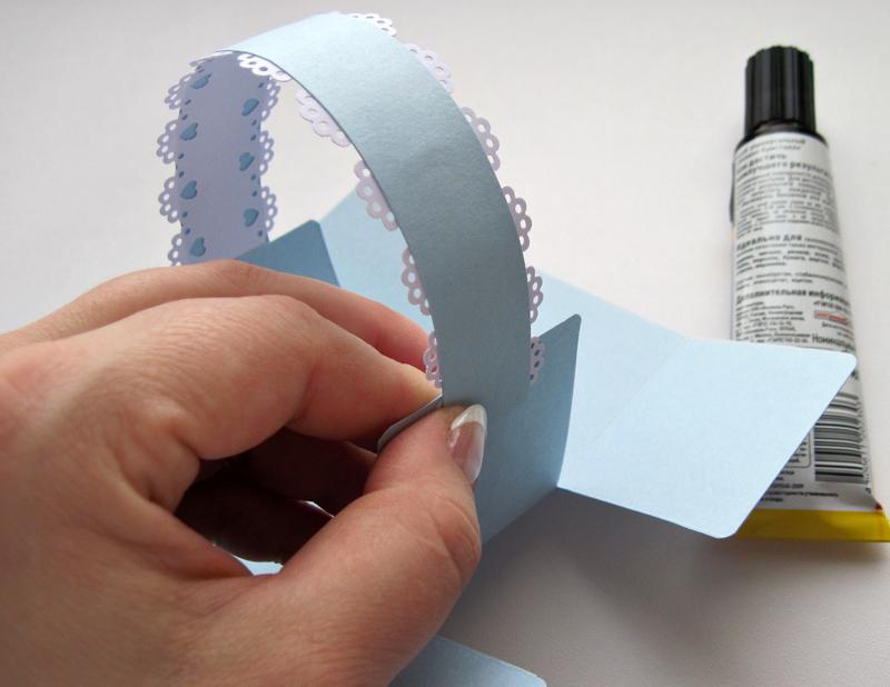 Как сделать простые корзинки из картона