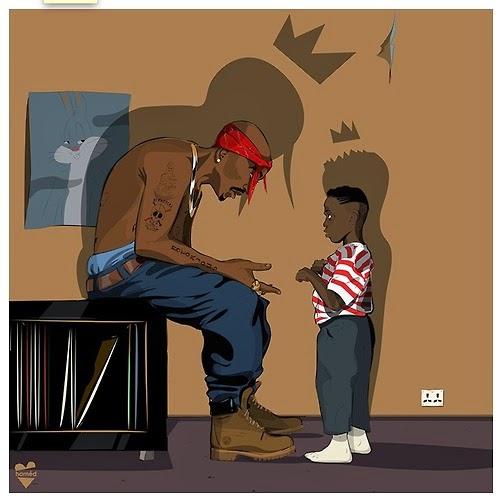 Kendrick Lamar entrevista 2Pac em música (Legendado)