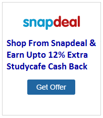 Snapdeal Cash Back