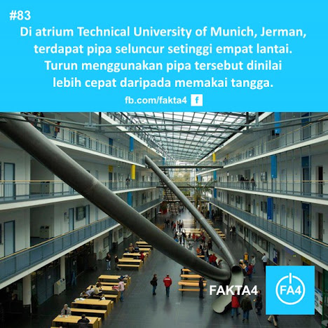 Pipa Seluncur di Universitas Munich