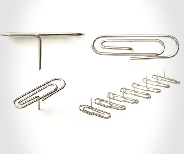 Paperclip Thumbtacks (Pinclip)