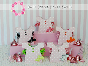 Onesie Baby Shower Party Favors-So Cute!