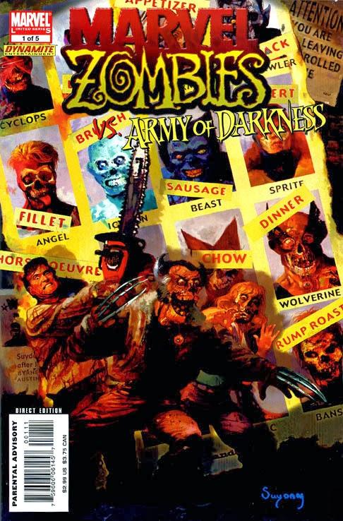 Marvel ZOmbies Homenaje Uncanny X-Men 141