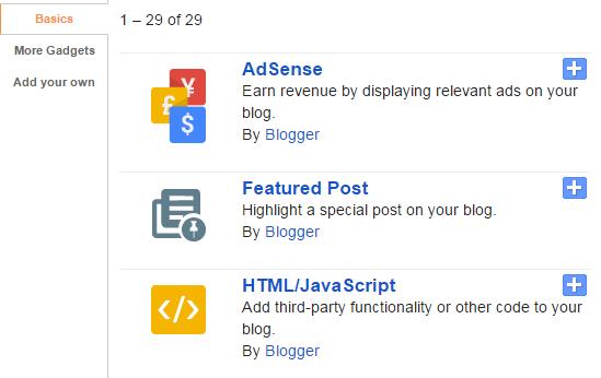 Widget Entri yang Diunggulkan atau Featured Post