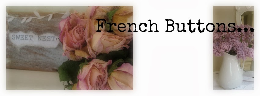 FRENCH bUTTONS...Sharing my love of romantic design