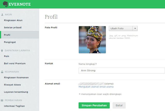 join di evernote