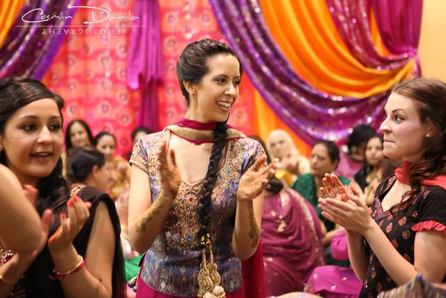 Aminders Sangeet Party Maiya Ceremony