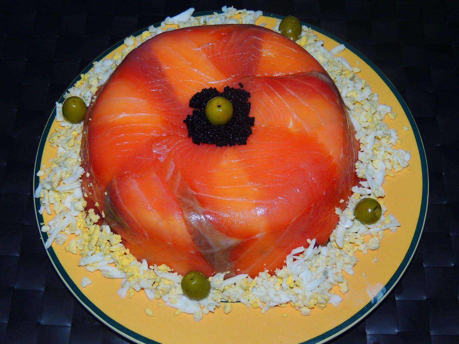 El placer de cocinar pastel de salm n for Que cocinar para invitados