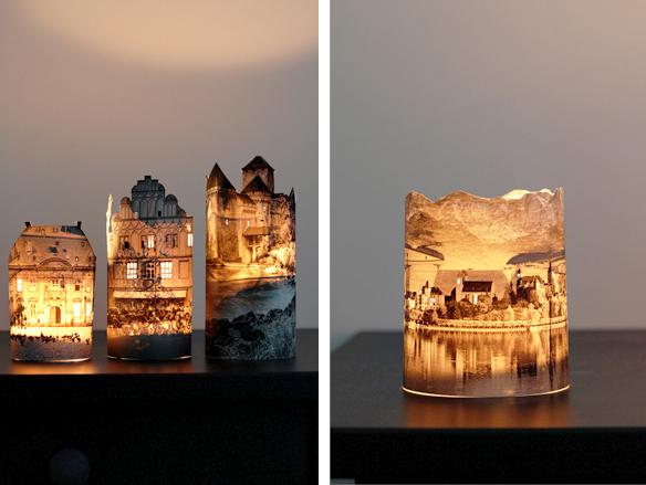 objetos de decoração, faça você mesma, DIY, velas artesanais