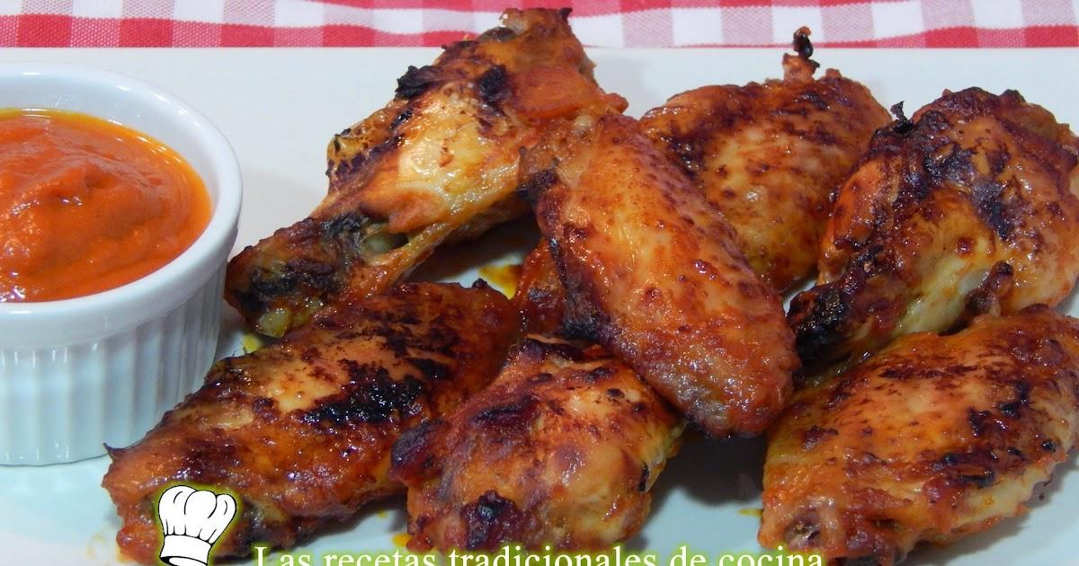 Receta de alitas de pollo con salsa barbacoa recetas de cocina con sabor tradicional - Como se hace pollo en salsa ...