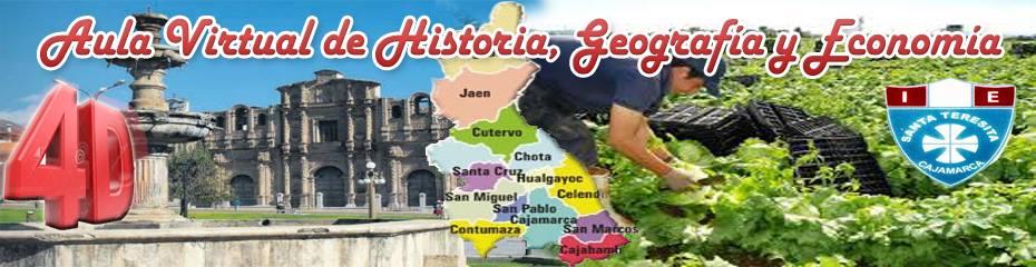 """AULA DE HISTORIA, GEOGRAFÍA Y ECONOMÍA 4° """"D"""""""