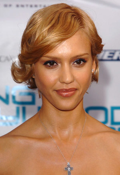 Hot Jessica Alba Hairstyles