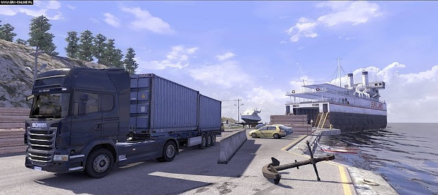 Capturas Scania Truck Driving Simulator Extended PC Full