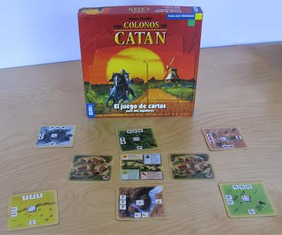 Colonos de Catán - Juego de cartas -Caja