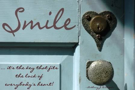 Smile - It's The Key That Fits The Lock Of Everybody's Heart