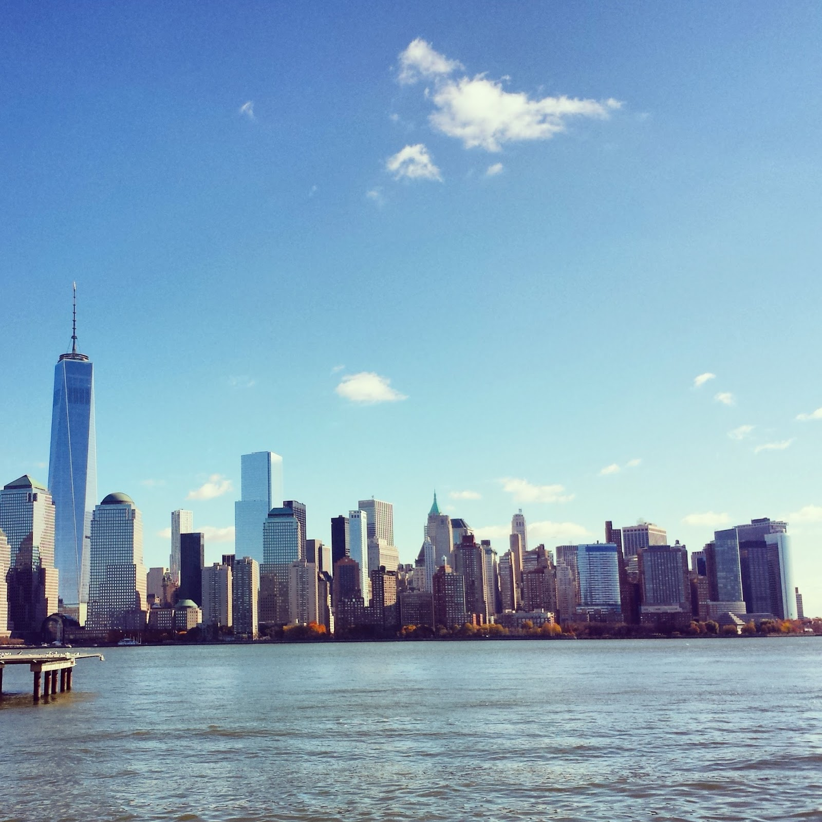 Lower Manhattan + Freedom Tower  |  Across an ocean on afeathery*nest  |  http://afeatherynest.com