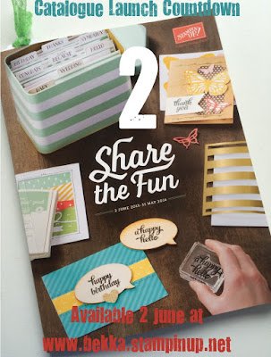 The New Stampin' Up! UK Catalogue available here 2 June